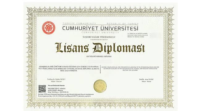 Üniversite diplomaları artık e-imzalı