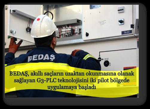 BEDAŞ, iki bölgede G3-PLC teknolojisini uygulamaya aldı