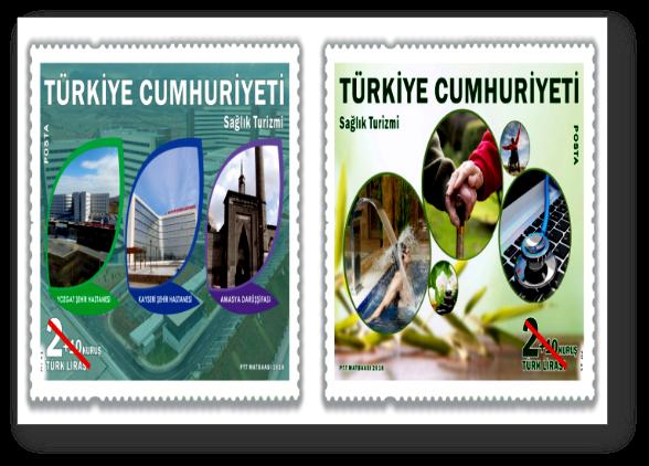 """PTT AŞ. """"Sağlık Turizmi"""" konulu ek değerli anma pulu hazırladı"""