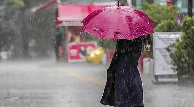 Meteoroloji uyardı: Sağanak yağışa dikkat!