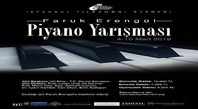 Genç Piyanistlere Çağrı: İstanbul Filarmoni Derneği'nden