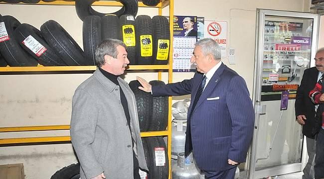 Takılmazsa cezası 715 lira: Lastikçilerde işler yoğunlaştı