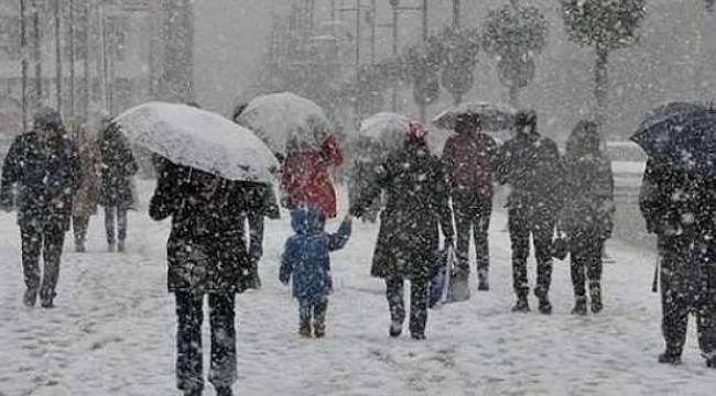 Meteoroloji'den kar uyarısı: Okullar TATİL OLABİLİR