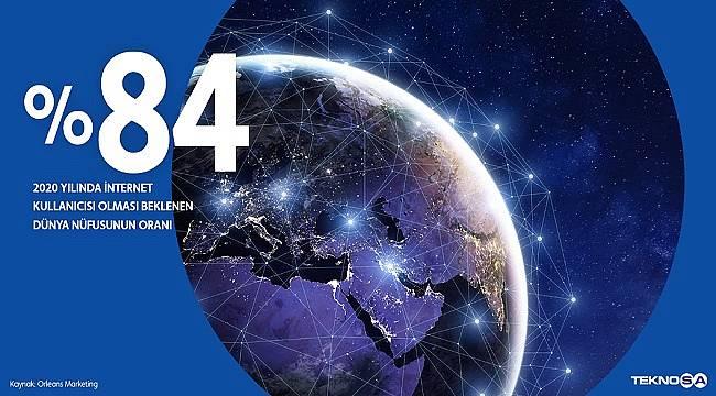 TÜKETİCİLER: 3,8 milyar insan internet kullanıyor