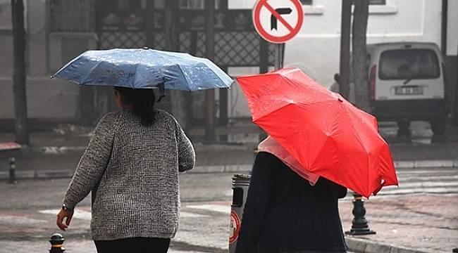 Dikkat! Meteoroloji uyardı, hava bugün yağmurlu