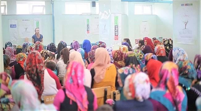 Kadınlara yönelik ÖNCE SAĞLIK programını tamamladı