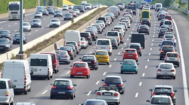 34 bin 25 taşıt trafiğe yeni kayıt yaptırdı