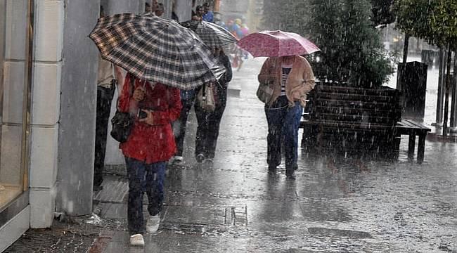 Bu illerde yaşayanlar, sağanak yağışa dikkat!