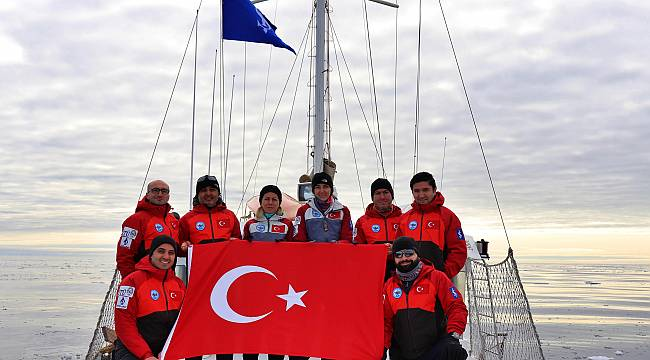 Arktik'e ilk Türk bilimsel seferi