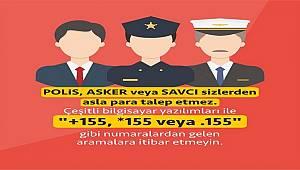 Polis - asker - Savcı sizden ASLA para talep etmez
