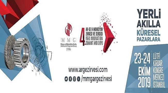 Türkiye'nin Ar-Ge ve İnovasyon Zirvesi 23- 24 Ekim'de