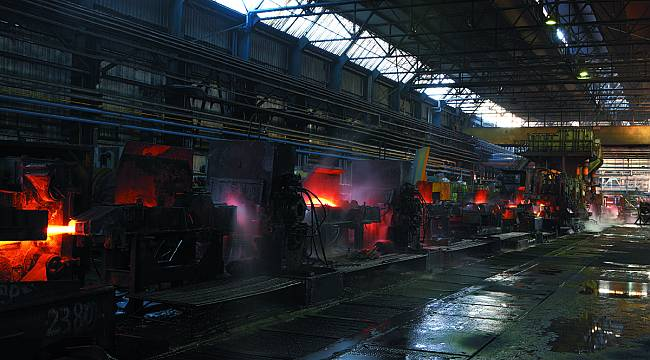 Türkiye'nin demir-çelik üretimi yüzde 11 düştü