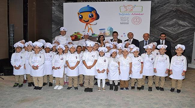 MEB ve Nestle: Bir yılda 31.000 çocuk ve 62.000 veliye ulaşacak