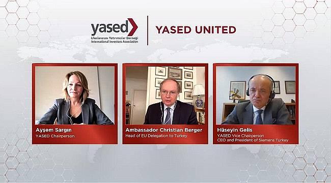 Krize en etkili çözümün güçlü iş birliği: AB Türkiye Delegasyonu Başkanı Büyükelçi Christian Berger...