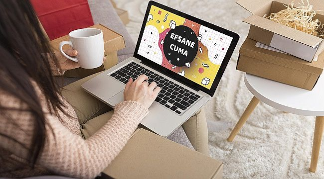 Efsane Cuma günlerinde Türkiye, online alışveriş rekoru kırdı