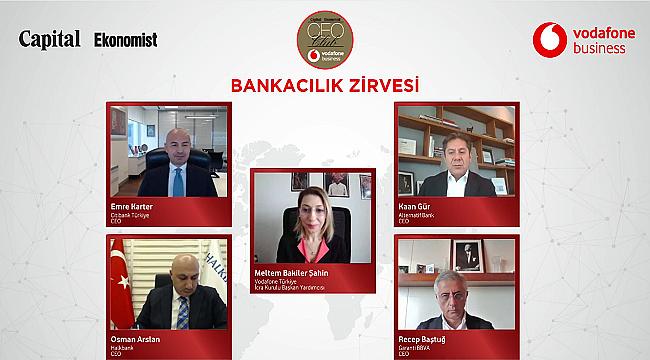 Türk Bankacılık Sektörünün 2021 Ajandası CEO Club'da konuşuldu
