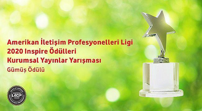 Vodafone Türkiye Sürdürülebilirlik Raporu'na Gümüş ödül