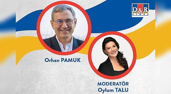 Orhan Pamuk ilk kez D&R'da