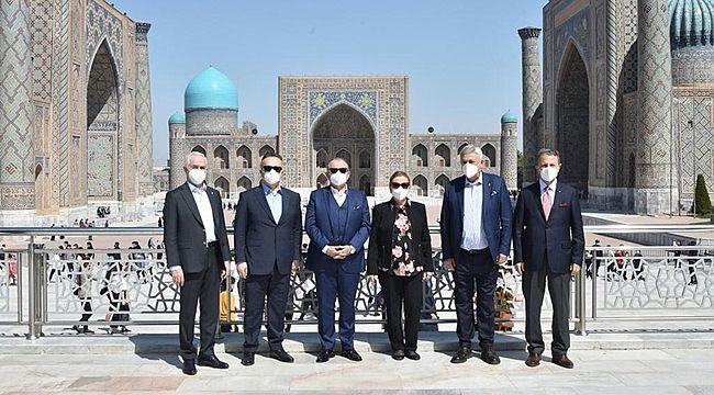 Ticaret Bakanlığı Heyeti... Özbekistan kamu- özel işbirliği projelerinde Türkiye tecrübesini inceleyecek