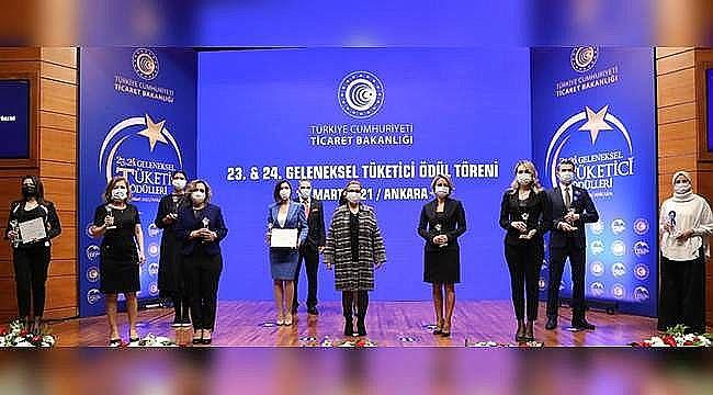 Ticaret Bakanlığı 'Geleneksel Tüketici Ödülleri' - Yazılı Basın Ödülü'nü TÜKETİCİ POSTASI aldı!