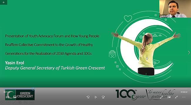 Yeşilay, ECOSOC'da Genç Savunuculuğu Anlattı