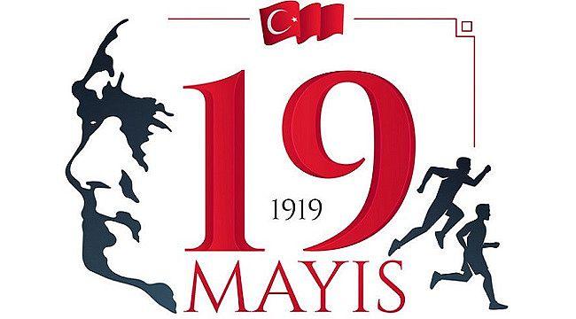 '19 Mayıs Atatürk'ü Anma, Gençlik ve Spor Bayramımız kutlu olsun.'