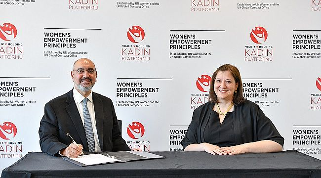 Kadın Platformu'yla cinsiyet eşitliğini vurgulayan Yıldız Holding, BM Kadının Güçlenmesi Prensiplerini de imzaladı