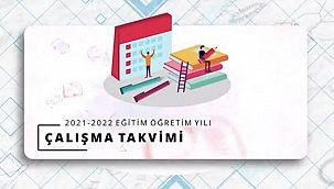 MEB - 2021-2022 Eğitim Öğretim Yılı Takvimi'ni açıkladı!