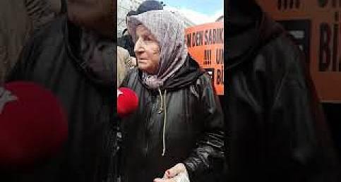 """#koprugecismagdurlarından Elmas Yılmaz: """"Nereden ödeyeceğiz"""""""