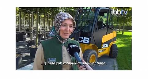 İstanbul Büyükşehir Belediyesi paylaştı: Forklift kullanıyor (VİDEOLU)